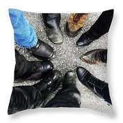 Made To Ride Throw Pillow