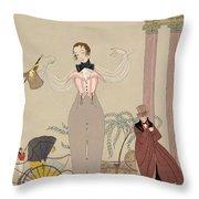 Mademoiselle De Maupin Throw Pillow