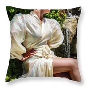 Mademoiselle French Collection 1 Throw Pillow