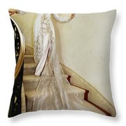 Mademoiselle French Collection 2 Throw Pillow