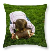 Mademoiselle Of The Midway Throw Pillow