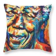 Madiba Throw Pillow