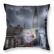 Madison Avenue Throw Pillow