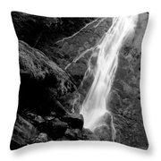 Madison Creek Falls Three Throw Pillow