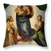 Madonna 1513 Throw Pillow