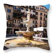 Madonna Verona Throw Pillow