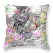 Madonnas Throw Pillow