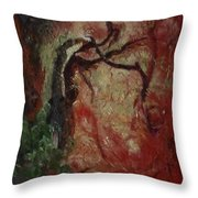 Madrona Tree Throw Pillow