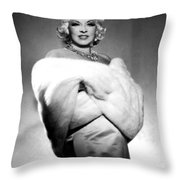 Mae West Throw Pillow