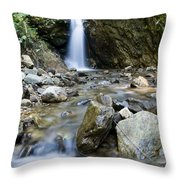 Maekutlong Waterfall Throw Pillow