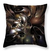 Maelstrom In The Myringa Throw Pillow