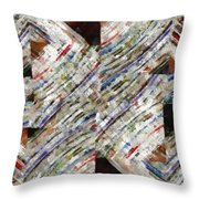 Mag 6 Abstract Painting Throw Pillow