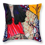 Mag Mad Olivia 1 Throw Pillow