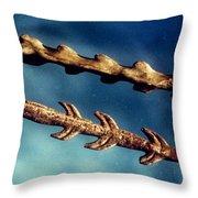 Magdalenian Harpoons Throw Pillow