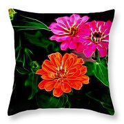 Magellans In Abstract 4 Throw Pillow
