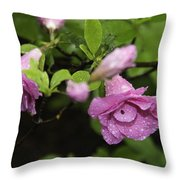 Magenta In The Wild Throw Pillow