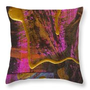 Magenta Joy Throw Pillow