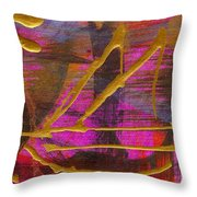 Magenta Joy Sails Throw Pillow
