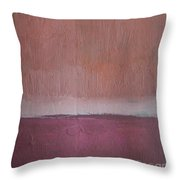 Magenta Valley  Throw Pillow