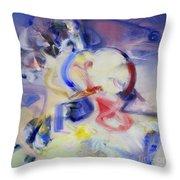 Magic And Romance Throw Pillow