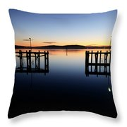 Magic At Bodega Bay California Throw Pillow