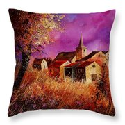 Magic Autumn  Throw Pillow