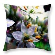 Magic Blossoms Throw Pillow