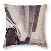 Magic Bond Throw Pillow
