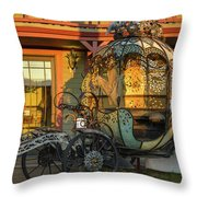 Magic Carriage Throw Pillow