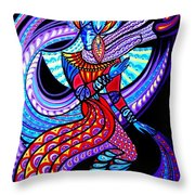 Magic Dance In The Void Throw Pillow