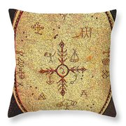 Magic Drum Throw Pillow