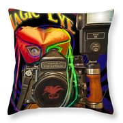 Magic Eye Throw Pillow