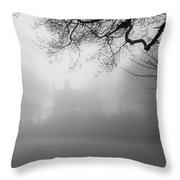 Magic Fog Throw Pillow