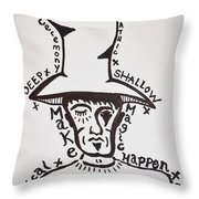 Magic Hat Throw Pillow
