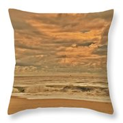 Magic In The Air - Jersey Shore Throw Pillow