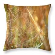 Magic In The Marsh Throw Pillow