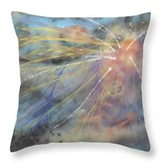 Magic In The Skies Throw Pillow