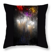 Magic In The Sky Throw Pillow