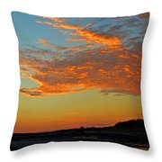 Magic Moments Over Cape Cod Bay Throw Pillow