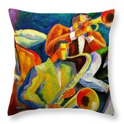 Magic Music Throw Pillow