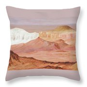 Magic Of The Breakaways South Australia 2014 To 16 Throw Pillow