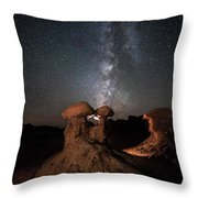 Magic Shrooms Throw Pillow
