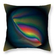 Magic Sphere Throw Pillow