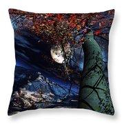 Magic Tree Of Wonder Throw Pillow