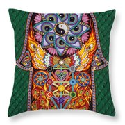 Magic Vibes Throw Pillow by Galina Bachmanova
