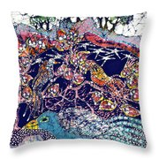 Magical Birds Throw Pillow by Carol  Law Conklin