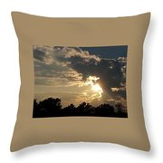 Magical Clouds Throw Pillow