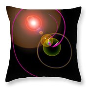 Magical Light And Energy 4 Throw Pillow