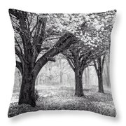 Magical Meadow  Throw Pillow