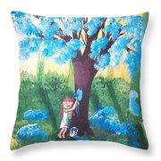 Magical Mischief Maker Throw Pillow